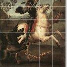 Raphael Mythology Dining Tile Room Mural Wall Design Remodeling