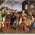 Raphael Religious Tile Wall Dining Room Mural Floor Decor Decor