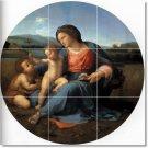 Raphael Mother Child Mural Floor Tiles Bedroom Home Decor Design