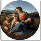 Raphael Mother Child Mural Tiles Bedroom Floor Design Home Decor