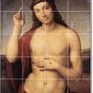 Raphael Religious Tile Wall Dining Mural Room Decor Floor Decor
