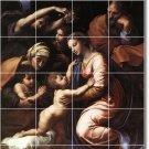 Raphael Religious Mural Shower Bathroom Tile Wall Remodel Floor