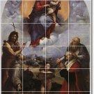 Raphael Religious Mural Backsplash Tiles Wall Renovate Interior