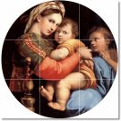 Raphael Mother Child Dining Tile Mural Room Wall Modern Renovate