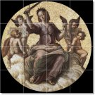 Raphael Religious Murals Tile Bedroom Wall Home Remodeling Idea