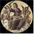 Raphael Religious Murals Tile Wall Bedroom Home Idea Remodeling