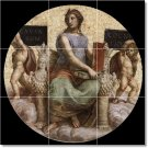 Raphael Religious Backsplash Wall Decorate Idea Home Remodeling