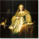 Rembrandt Women Floor Bedroom Tiles Mural Modern Design Floor