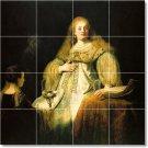 Rembrandt Women Floor Mural Bedroom Tiles Floor Modern Design