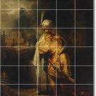Rembrandt Religious Mural Tiles Room Interior Ideas Renovations