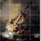 Rembrandt Religious Tiles Room Mural Renovations Interior Ideas