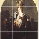 Rembrandt Religious Backsplash Tiles Ideas Interior Renovations
