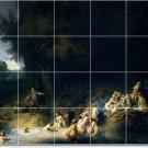 Rembrandt Mythology Bedroom Wall Murals Traditional Renovations