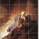 Rembrandt Religious Tiles Room Dining Wall House Renovate Ideas