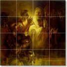 Rembrandt Religious Tiles Wall Dining Room Renovate House Ideas