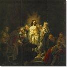 Rembrandt Religious Wall Kitchen Tiles Home Design Construction