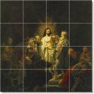 Rembrandt Religious Wall Tiles Kitchen Construction Home Design