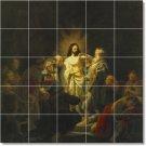 Rembrandt Religious Tiles Kitchen Wall Construction Design Home