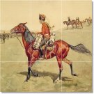 Remington Horses Tile Mural Dining Room House Ideas Remodeling