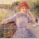 Renoir Women Mural Kitchen Tile Backsplash Modern Design Floor
