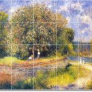 Renoir Country Mural Room Dining Traditional House Construction