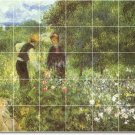 Renoir Garden Floor Mural Wall Bedroom House Modern Renovation