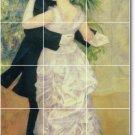Renoir Men Women Living Room Tile Mural Interior Ideas Remodel
