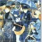 Renoir Women Bathroom Mural Shower Remodeling Home Design Idea