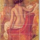 Renoir Nudes Mural Bathroom Shower Remodeling Design Idea Home