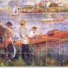 Renoir Waterfront Wall Mural Living Room Renovations Ideas Home
