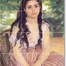 Renoir Women Shower Mural Wall Tiles Renovate Traditional Home