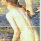 Renoir Nudes Wall Tiles Mural Shower Interior Renovations Idea