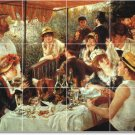 Renoir People Tile Backsplash Mural Kitchen Wall Modern Design