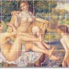 Renoir Nudes Mural Shower Tiles Wall Renovations Interior Idea