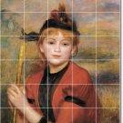 Renoir Women Mural Wall Shower Tiles Renovations Idea Interior