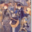 Renoir Women Mural Wall Tiles Shower Idea Interior Renovations