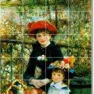Renoir Children Mural Backsplash Wall Tiles Interior Renovate