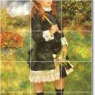 Renoir Children Mural Backsplash Tiles Wall Renovate Interior