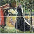 Rossetti Mythology Dining Tile Room Mural Modern House Remodel