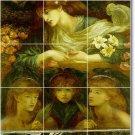 Rossetti Mythology Tile Room Dining Mural Residential Renovate