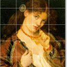 Rossetti Women Tile Mural Shower Bathroom Renovate House Design
