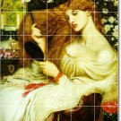 Rossetti Mythology Tiles Bedroom Construction Home Design Idea