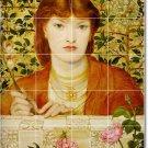 Rossetti Women Wall Bathroom Murals Design Home Idea Remodeling