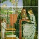 Rossetti Religious Wall Kitchen Backsplash Tile Remodel Modern