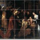 Rubens Religious Room Tile Murals Design Idea Renovations Home