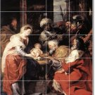 Rubens Religious Room Murals Tile Idea Home Renovations Design