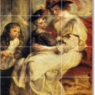 Rubens Mother Child Tiles Bedroom Mural Mural Wall Modern Floor