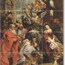 Rubens Religious Tile Floor Living Room Construction Idea Home