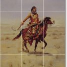 Russell Indians Room Floor Dining Mural Idea House Decorating