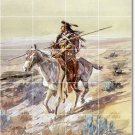 Russell Indians Room Floor Mural Dining Idea Decorating House